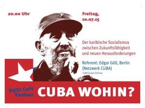 Kuba_Plakat Freiburg